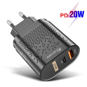 Fast Charging PD 20W Quick Charge 4.0 Type C USB Charger Mobile Phone Charger For iPhone 11 XS Samsung Xiaomi
