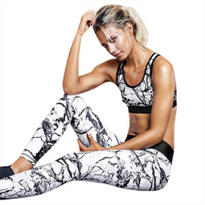 JAYCOSIN Women Set Clothes Sexy White Plus Size Two Piece Set O Neck Vest Top Long Pants Summer Fitness Jogging Outfits