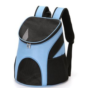 Pet Dog Carriers Backpack Bags Pet Cat Outdoor Travel Carrier Packbag Portable Zipper Mesh Backpack Breathable wmtdly dayupshop