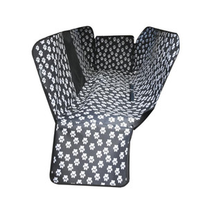 Pet Dog Car Seat Cover Pet Pattern Mat Car Seatcovers Waterproof Oxford Back Bench Seat Travel Carriers For All Cars