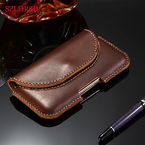 Samsung A71 A70s Case Genuine Leather Holster Belt Clip Pouch Waist Bag Phone Cover For Galaxy A51 A50 A50s