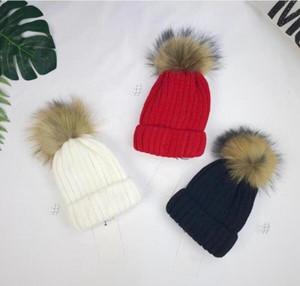 Sonbahar Kış Çocuk Şapka Örgü Şapka Kızlar Ve Erkek Cap Moda Bebek Çocuk Cap Çocuk Bebek Kız Erkek Hediye