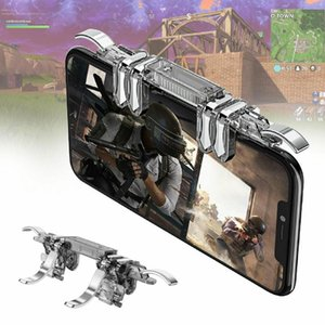 K19 Mobile Phone Gaming Trigger for PUBG Mobile Gamepad Fire Button Aim Key L1R1 Gaming Shooter PUBG Controller r20