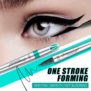 QIC Slim Liquid Eye liners for Women Waterproof Black Eyeliner Pen Long-lasting Eyeliner Pencil Easy to use