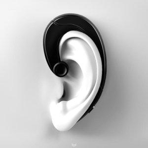 Joyroom الابن -P1 سماعات بلوتوث البسيطة سماعات بلوتوث مشبك الأذن سماعة لاسلكية سماعات آيفون سامسونج إل جي