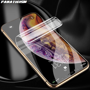 Nano Soft TPU Hydrogel Film For iPhone 12 Pro Max 12pro 12mini Full Cover Screen Protector Moblie LCD Protective Film