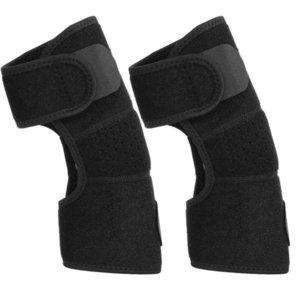 통합 바인딩 운동 아암 소매의 팔꿈치를지지 패브릭 팔꿈치 보호 패드 성형 슬리브 니트