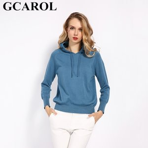GCarol Autunno Girls Girls Knit Pullover 30% Lana con cappuccio Maglione High Street Candy Donne render maglia Jumper Maglieria Maglieria 200924