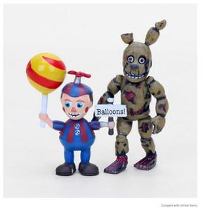 Fnaf Figure Five Nights At Freddy's Sister Location Springtrap Balloon Boy Ennard Freddy Bear Action Figures Toys Y19062901