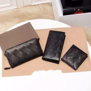 7 stars quality wallet wholesale luxury designer cowhide genuine leather max crochet zipper men long purse catd holder black bagd free ship