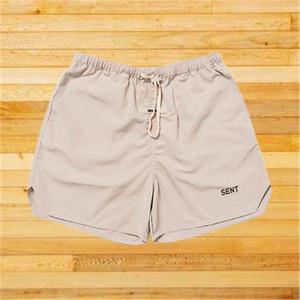 Famous Stylist Mens Shorts Street Fashion Letters Reflective Men Beach Short Pant 2021 Hip Hop Joggers Pants
