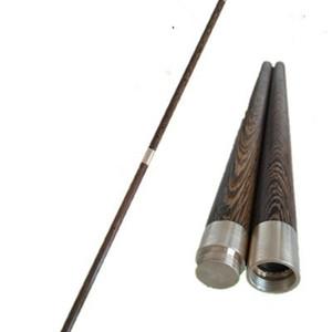 Wengy Hardwood BO Staff Wushu Shaolin Sticks 2-Sezione Qigong Tai Chi Yangshengzhang Taiji Q0108