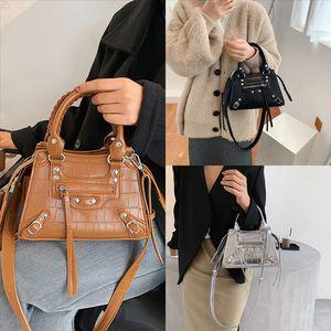 yoYWV Women MJ Zipper crocodile skin Messenger Shoulder Bag Designer vanessa bruno handbag Luxury Handbag Ladies Famous Small Marc top Bag