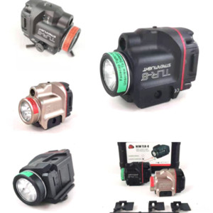 CJAEE MODELO TACTICO C8 C8 CREE XM TLR-8 L T6 LLEGADOS Portátiles Skyray Laser King LED FlashLamp X Cree XM-L FLAS TACTICA LED Linterna