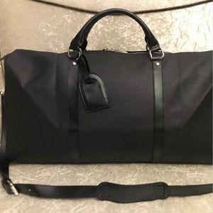 Svolgere tutte bandoulière 55 centimetri Designer Mens delle donne di viaggio Duffle Borsone di lusso di rotolamento Softsided Bagagli Set valigia M41414