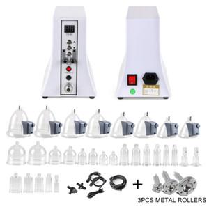 2020 Vacuum Breast Enhancement Hip Enlargement Buttocks Lifting Massage Machine Breast Enlarger Body Massager+3pcs metal rollers