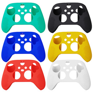 2020 Hot Anti Slip Soft Silicone Protective Case Shell Cover Skin For Xbox Series X S Controller Gamepad Game Accessories
