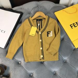 kids top quality winter clothes kids cardigan casual sweaters knit sweatshirt hoodies FD2T