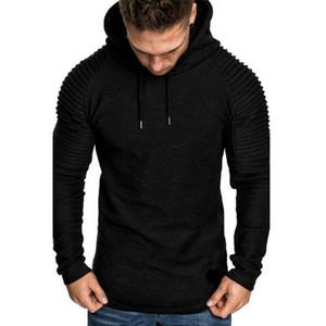 New Brand Fashion Mens Hoodies Men Solid Color Hooded Slim Sweatshirt Mens Hoodie Hip Hop Hoodies Sportswear Tracksuit