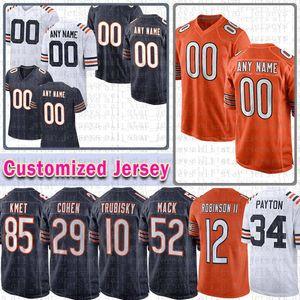 Futbol custom jersey 40 gale sayers jimmy graham jaylon johnson william perry brian piccolo darnell mooney mike singletary gipson shelley
