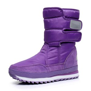 Couples with velvet (containing 25% wool) fashion boots girl waterproof warm comfortable boots lovers add flocking
