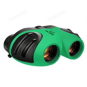 mini handheld optical 8x21outdoor Portable Binoculars Celestron Children's Telescope For Stargazing Kids Nature Observation Gift Free Ship