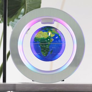 Magnetic Levitation Globe Round 4-inch creative home furnishings Energy saving High-grade gifts can be customized LOGO wholesale