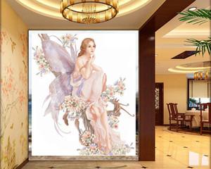 3d Photo Wallpaper Custom Beautiful Butterfly Fairy Mural Living Room Bedroom TV Background Wall Wallpaper