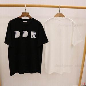 Caliente 2021 Nuevo para mujer para hombre diseñadores camiseta de la moda de los hombres S T Shirts Casual hombre de la calle Ropa de diseño Ropa Pantalones cortos de la manga camisetas 21ss