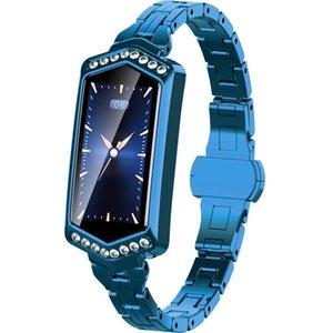 B78 096 дюймов IPS цветной экран IP67 водонепроницаемый смарт-часы Wristbandsupport Message напоминание сердечных сокращений монитор мониторинга кислорода крови B