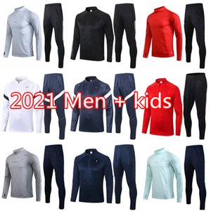 2021 Spain Футбольный трексуит с длинным рукавом Chandal Futbol 20 21 Аргентина Бельгия Футбольный тренировочный костюм Kane Werner Couscsuit