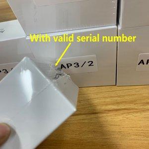 AIR GEN 3 Auriculares inalámbricos Cambie el nombre GPS CARGA INTERNABLE BLUETOOTH AUETOS PK PODS 2 AP PRO AP2 AP3 AP3 AP3 Auriculares con número de serie válido