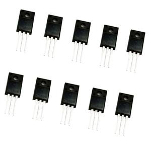 10PCS 2A 600V MOSFET transistor de efeito de campo TO-220F 2N60 Poder N-Channel