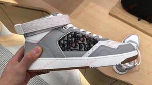 Dior shoes  nuevos Mens de la llegada mujeres ocasionales Comfort Shoes Moda zapatilla de deporte zapatos deportivos para hombre de cuero con malla transpirable zapatos