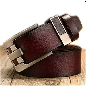 New Fashion Mens Business Belts Ceinture Automatic Buckle Genuine Leather Belts For Men Waist Belt Free Shipping 11