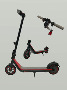 Kukudel Stock 858 Smart Electric Scooter Foldable 30km Max Mileage Kick Scooter Kick Folding Electric Scooters Waterproof IP54
