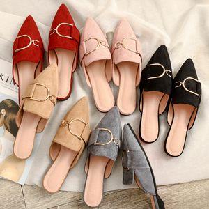 In the spring designer outdoorshoes woman mules platform slippers sandalias de verano para mujer zapatos de mujer calzado 201022