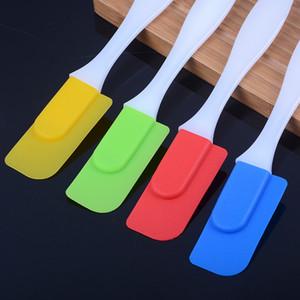 Creme Silikonschaber Küche Esszimmer Removable Spachtel Kuchen-Backen-Werkzeug Multicolor Neue Ankunft 0 46ja J2