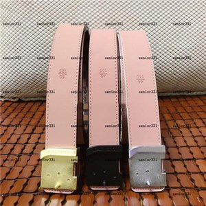 Nel 2020, la moda da uomo e le donne, le cinghie semplici e alla moda, le dimensioni 105-125 cm, la fibbia della lettera, la scatola completa.