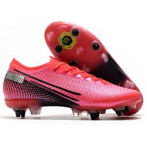 Erkek SG Pro Futbol Profilli Düşük AC Su geçirmez Metal Studs Toz Torbası Mbappe Ayakkabı Superfly Neymar Açık CR7 Mercurial Futbol Boots
