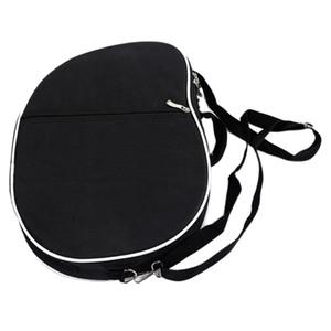 Simple Waterproof Padded Lyre Storage Carrying Bag Case Zipper 10 16 19 Strings Lyre Harp Handbags with Pocket Black