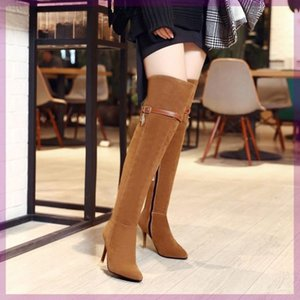 The new autumn and winter fat mm large cylinder circumference boots custom-made women large size women's boots knee boots long plus fertiliz