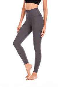 L-leggings women yoga outfits ladies sports align leggings ladies pants exercise & fitness wear girls running leggings