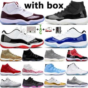 2021 Nueva alta OG Top 11 11s zapatos de baloncesto del Mens Jumpman baja 25 Aniversario Concord 45 Ovo Bred las mujeres del tamaño 36-47 zapatillas de deporte Deportes