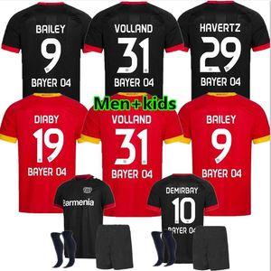 20/21 Leverkusen Fussball Jersey L.Bender 20/21 Bayer 04 Leverkusen Havertz Jersey Demirbay Alario Volland Football Shirt