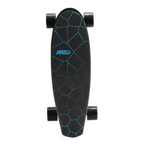 US STOCK, noir somatosensoriel planche à roulettes électrique sans télécommande à quatre roues Longboard Skateboard W34815709