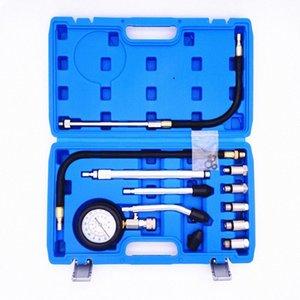 Automotive Motorzylinderdruck messen Kompressionsdruckmesser Auto-Diagnose-Analyse Erkennung Repair Tools Kit pqGv #
