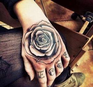 Tattoos Waterproof Tatto Temporary Tatouage Tattoo Tooth Heap Fake Hand Halloween Men Tatoo Sticker Temporary For Head Skull Tattoos sqcIV