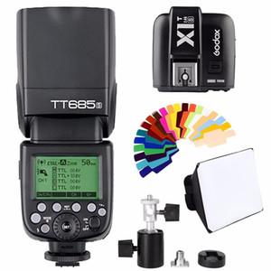 Godox685S 2.4G HSS 1 / 8000sL GN60 Wireless Speedlite вспышки для A7 A7R A7S A7 II A7R II A7S A6300 A6000 DSRL камеры