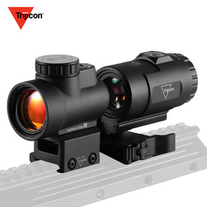 Trijicon MRO Red Dot Sight 3X Combo AR Tactical Optics Scopes With Low and Ultra High QD Mount fit 20mm Trijicon Hunting